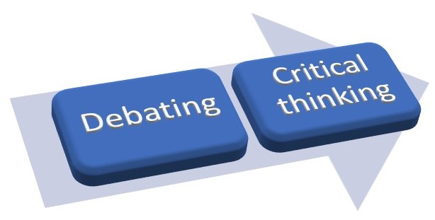 Students' poor critical thinking: Debate as a way out